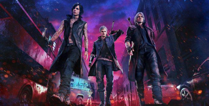 Devil May Cry 5 V, Nero et Dante