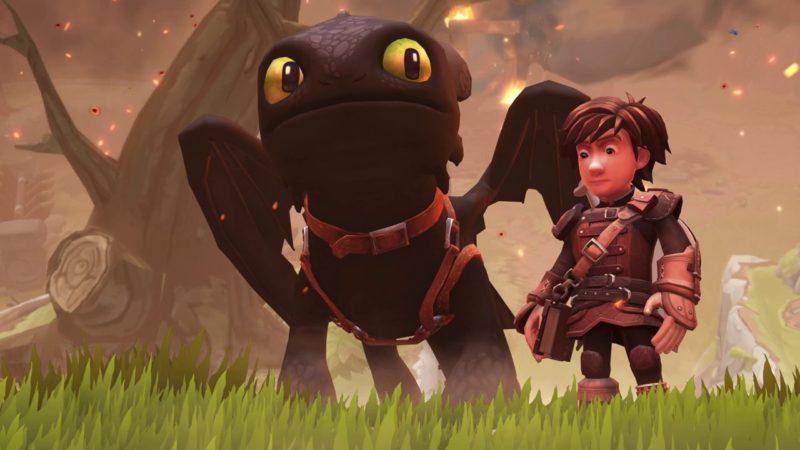 Dragons l'aube des nouveaux cavaliers Krokmou et Harold