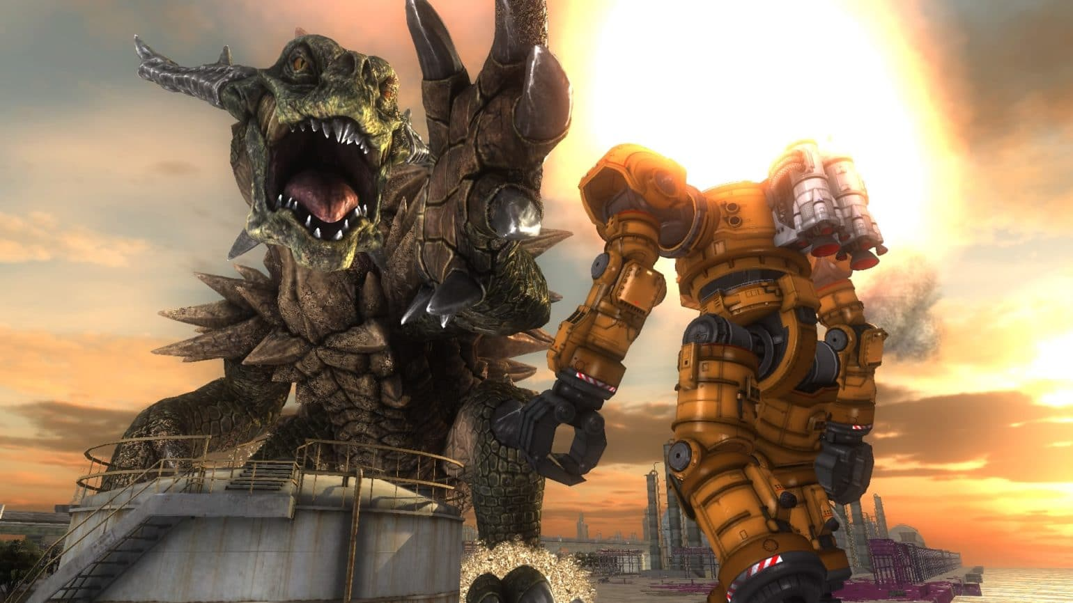 Earth Defence Force 5 Dragon