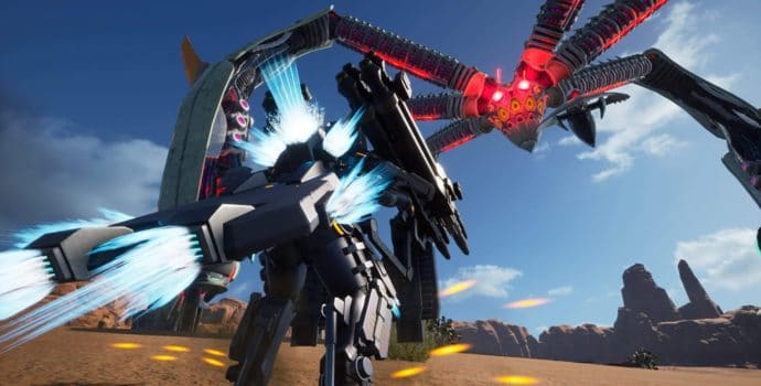 Earth Defense Force: Iron Rain robot géant