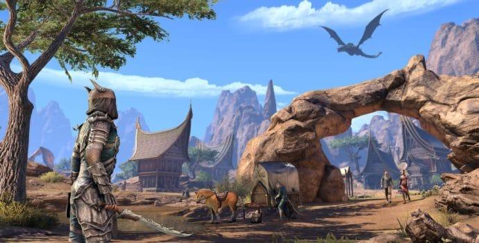 The Elder Scrolls Online : Elsweyr nous montre ses paysages