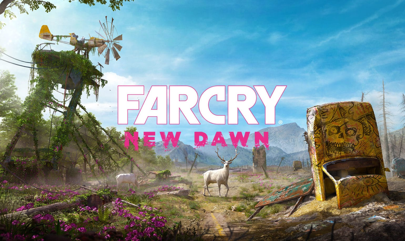Far Cry : New Dawn Hope County ravagé par la bombe nucléaire
