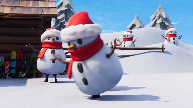 fortnite bonhommes de neige furtifs