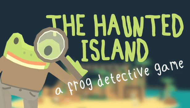 The Haunted Island: A frog Detective Game photo titre
