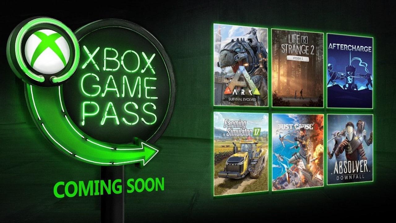 xbox game pass - janvier 2019