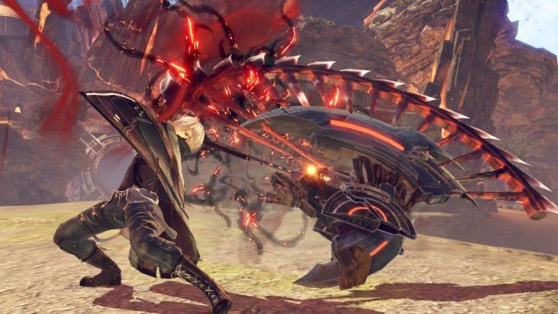 God Eater 3 un God Eater en plein combat