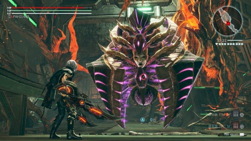 God Eater 3 notre héros face à un nouvel Aragami