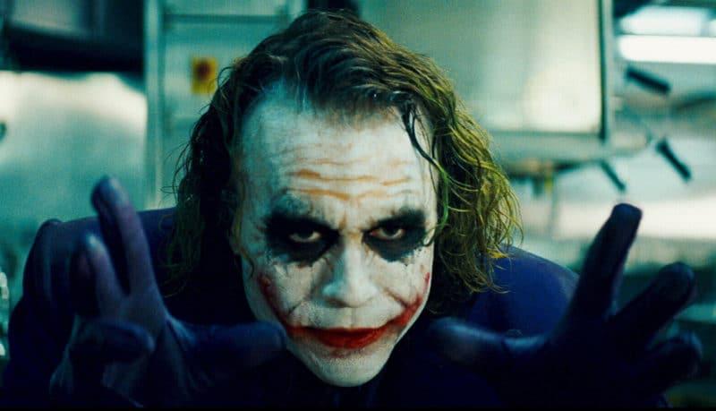 Birds of Prey Heath Ledger dans le rôle du Joker