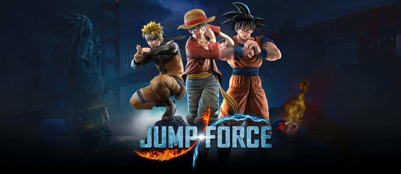 Jump Force Naruto, Luffy et Goku sont prêts pour le combat