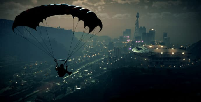 Just Cause 4 parachute