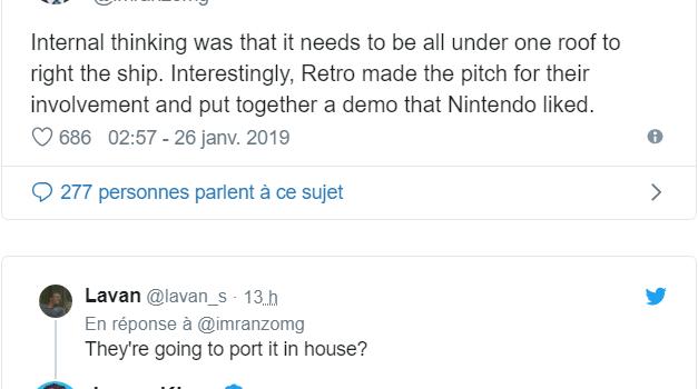Metroid Prime Trilogy - Imran Khan Tweet