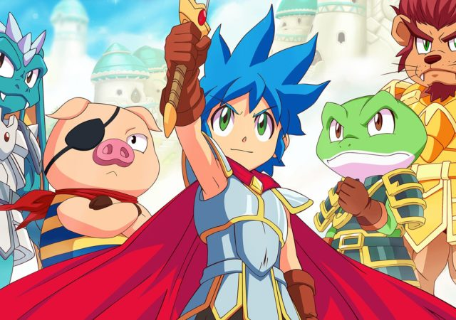 Monster Boy et le Royaume Maudit Jin et ses transformations