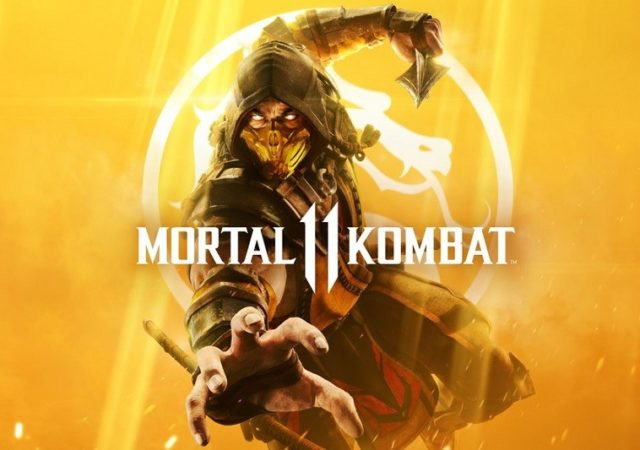 Mortal Kombat 11 - Scorpion sur le cover-art