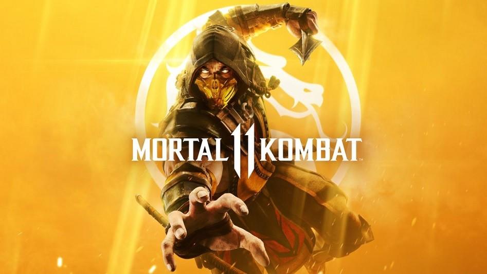 Mortal Kombat 11 - Scorpion sur le cover-art