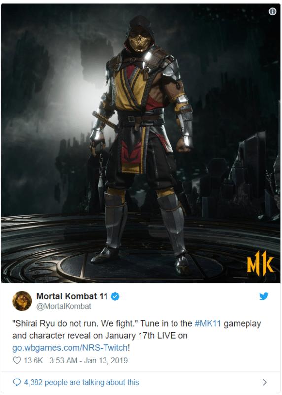 Mortal Kombat 11 - nouveau design
