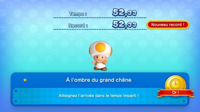 New Super Mario Bros. U Deluxe - Des défis