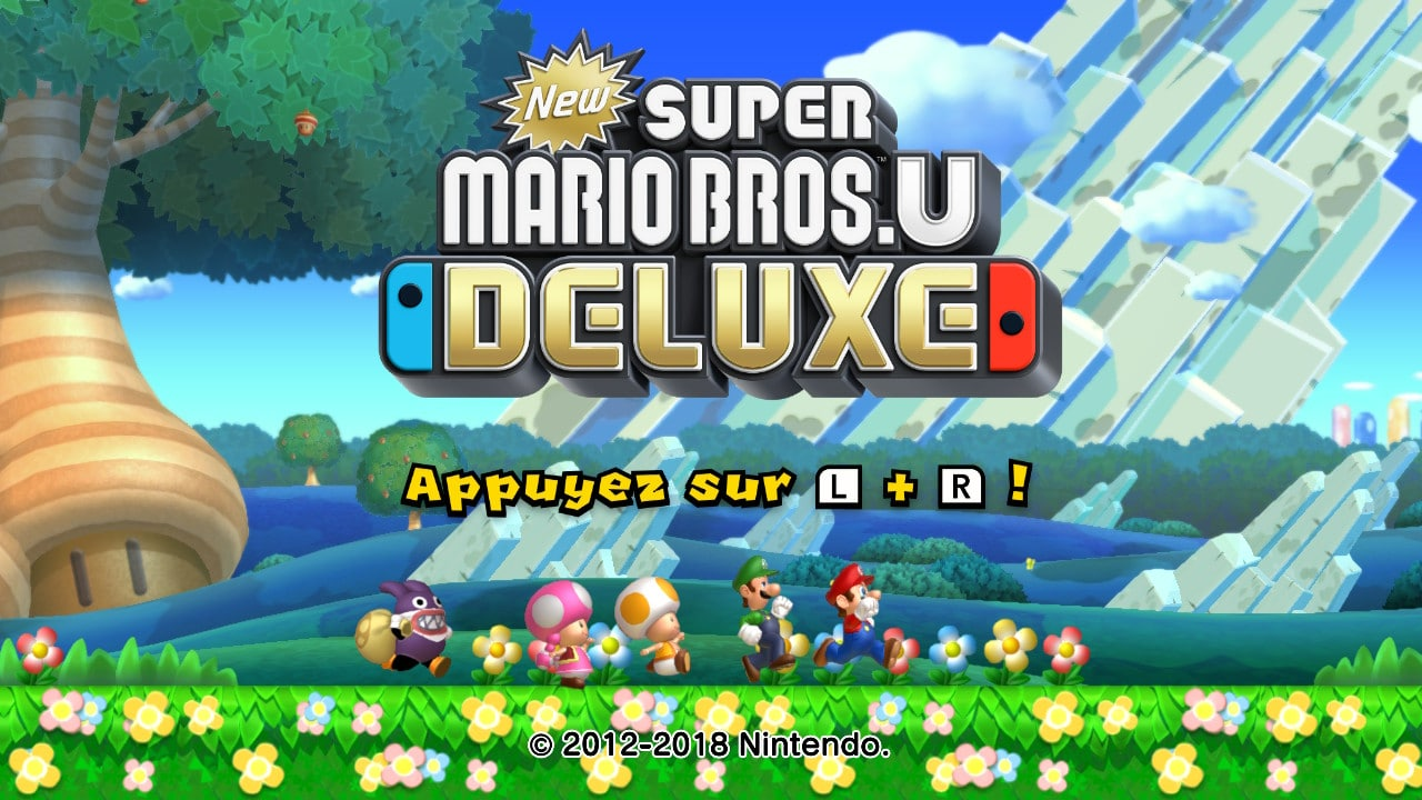 New Super Mario Bros.U Deluxe - les différences de la version Switch 2