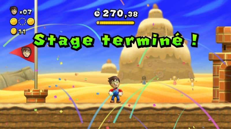 New Super Mario Bros. U Deluxe - Les Mii existent toujours