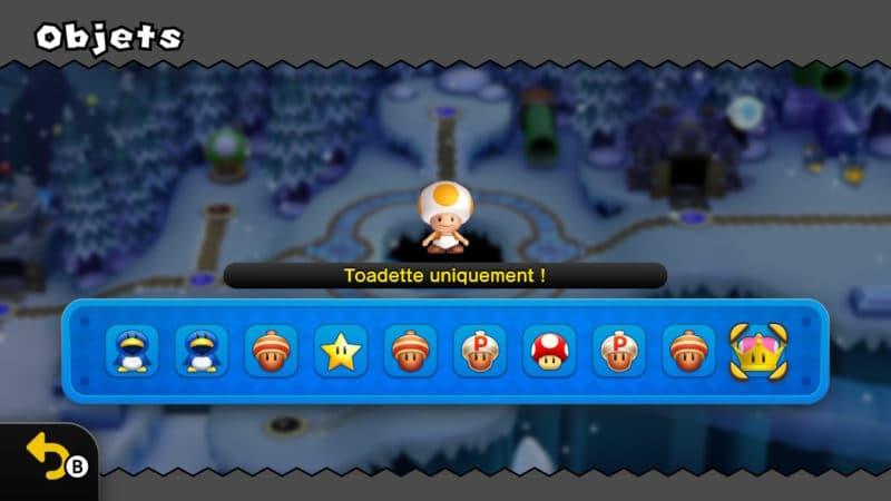 New Super Mario Bros. U Deluxe - Toadette uniquement