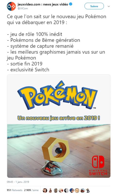 Pokémon 2019 - Coup de bluff