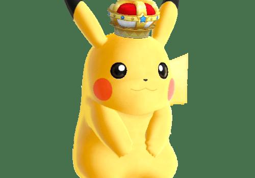 Pokémon 2019 - Pikachu couronné