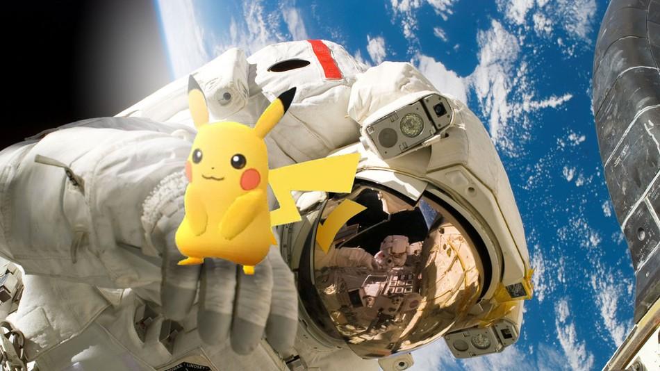 Pokémon 2019 - Pikachu dans l'espace