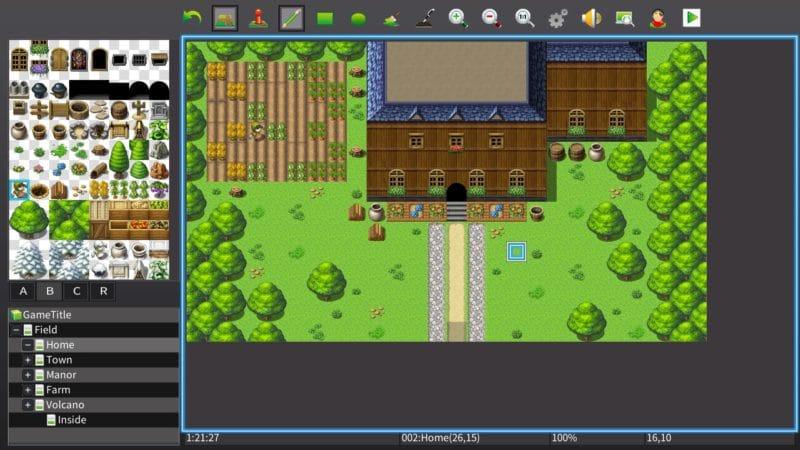 RPG Maker MV - map