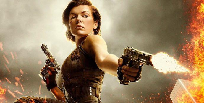 Resident Evil tir pistolet