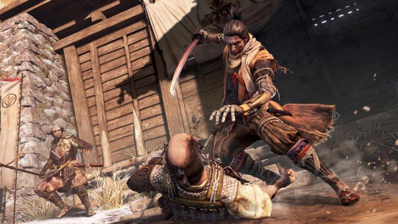 Playstation 4 Notre samourai et son bras squelette prêt à tuer son ennemi