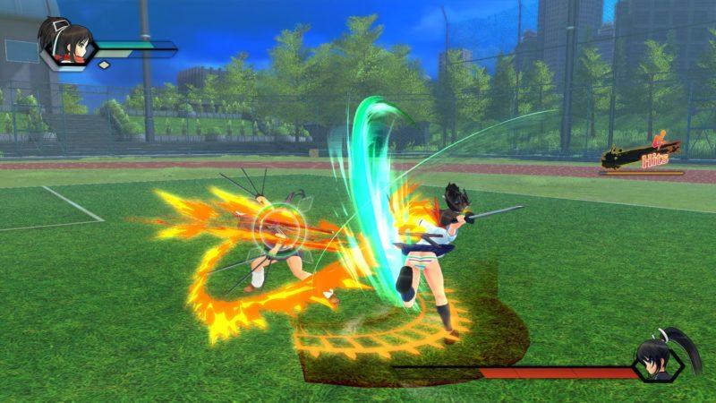SENRAN KAGURA Burst Re Newal - Combat au stade de Baseball