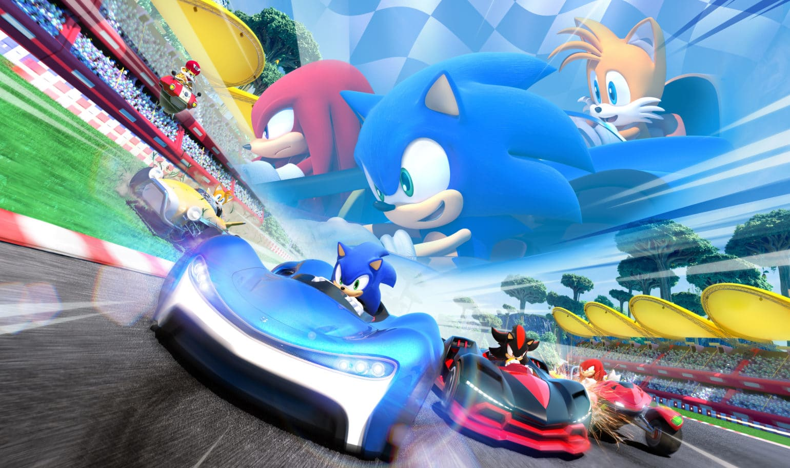 Sonic Team Racing cover illustration