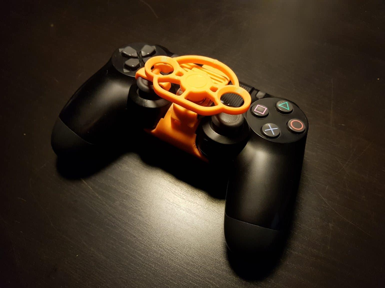 Test mini-volant PlayStation 4 - Manette vue générale