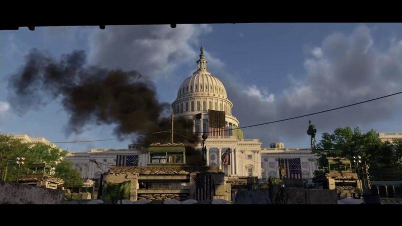 The Division 2 - capitole feu apocalypse