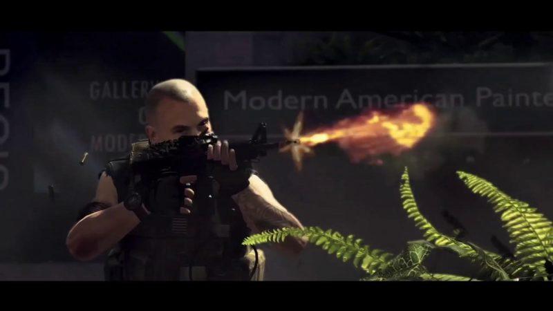 The Division 2 - tir arme à feu