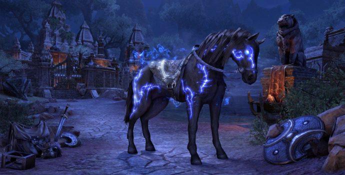 The Elder Scrolls Online monture exclusive de préachat d'Elsweyr
