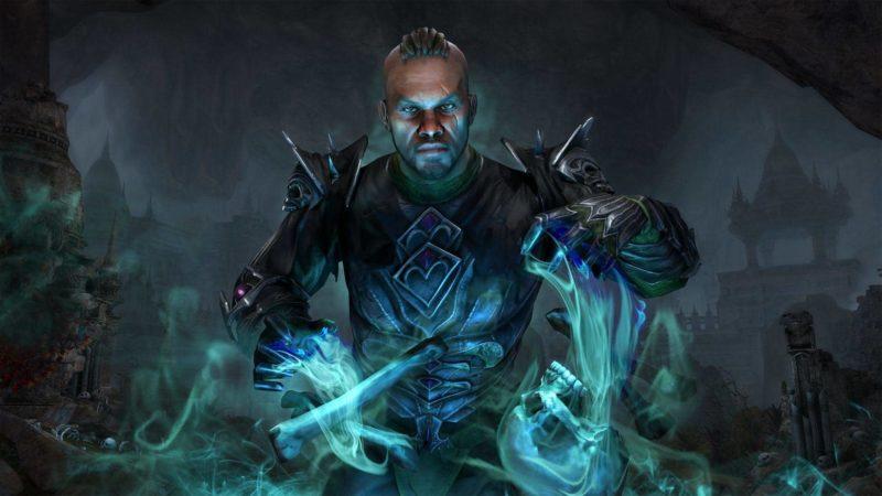The elder scrolls online : le nécromancien, nouvelle classe jouable, est prêt à ramener les morts à la vie !