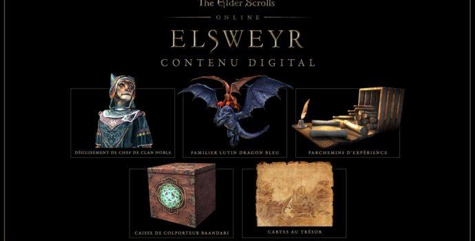 The Elder Scrolls Online : contenu de l'edition standard d'Elsweyr