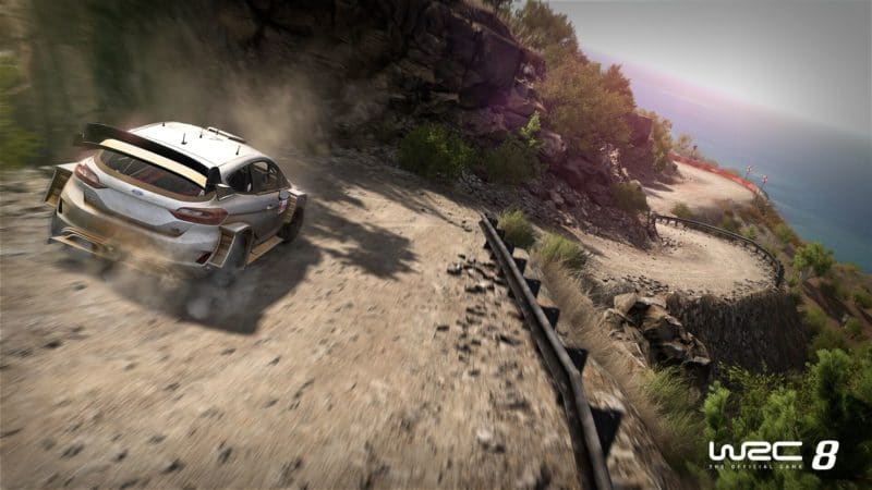 WRC 8 fiesta terre
