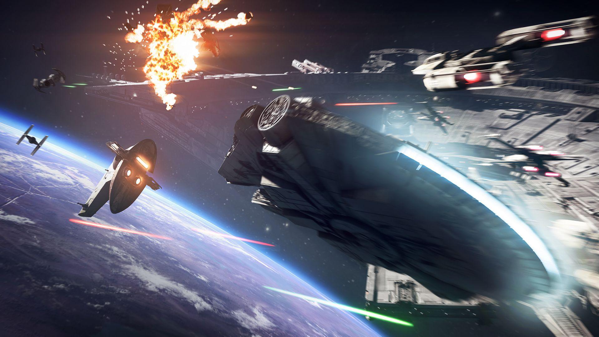 star wars battlefront 2 - espace