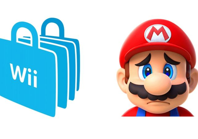 illustration fermeture wii shop channel
