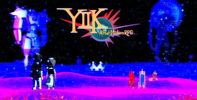 YIIK: a postmodern rpg écran titre