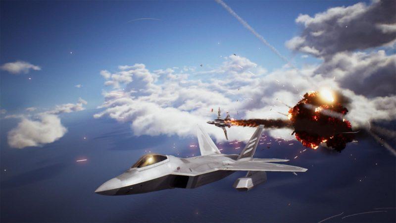 janvier 2019 Ace Combat 7 Les avions menent la danse et explosent dans les airs