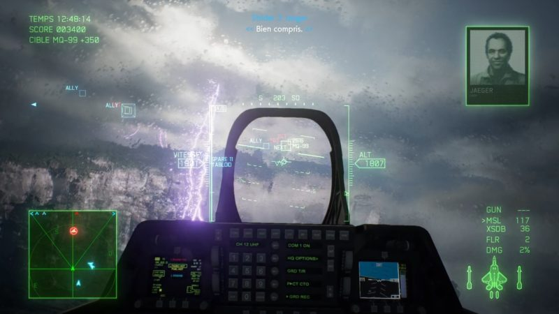 ace combat 7: skies unknown test orage