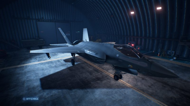 ace combat 7: skies unknown test galerie avion de chasse