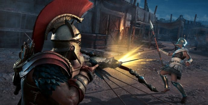 assassin's creed odyssey l'héritage de l'ombre tir rapide