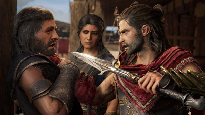 assassin's creed odyssey l'héritage de l'ombre Alexios menace