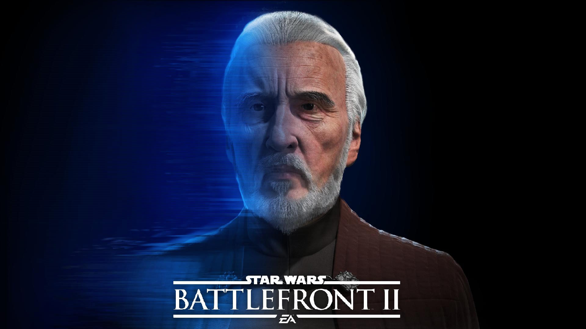 Le comte Dooku arrive dans Star Wars Battlefront 2