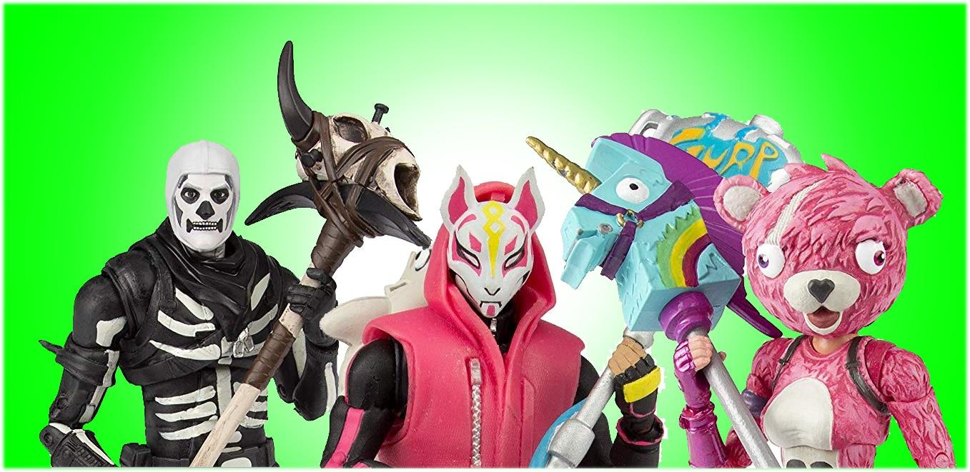 Une collection de figurines Fortnite par McFarlane Toys