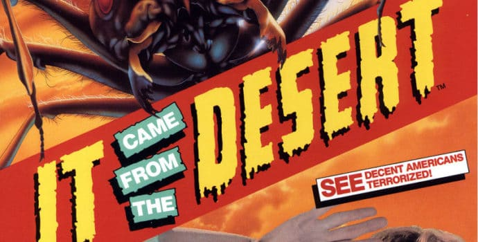 It Came From the Desert Box Art
