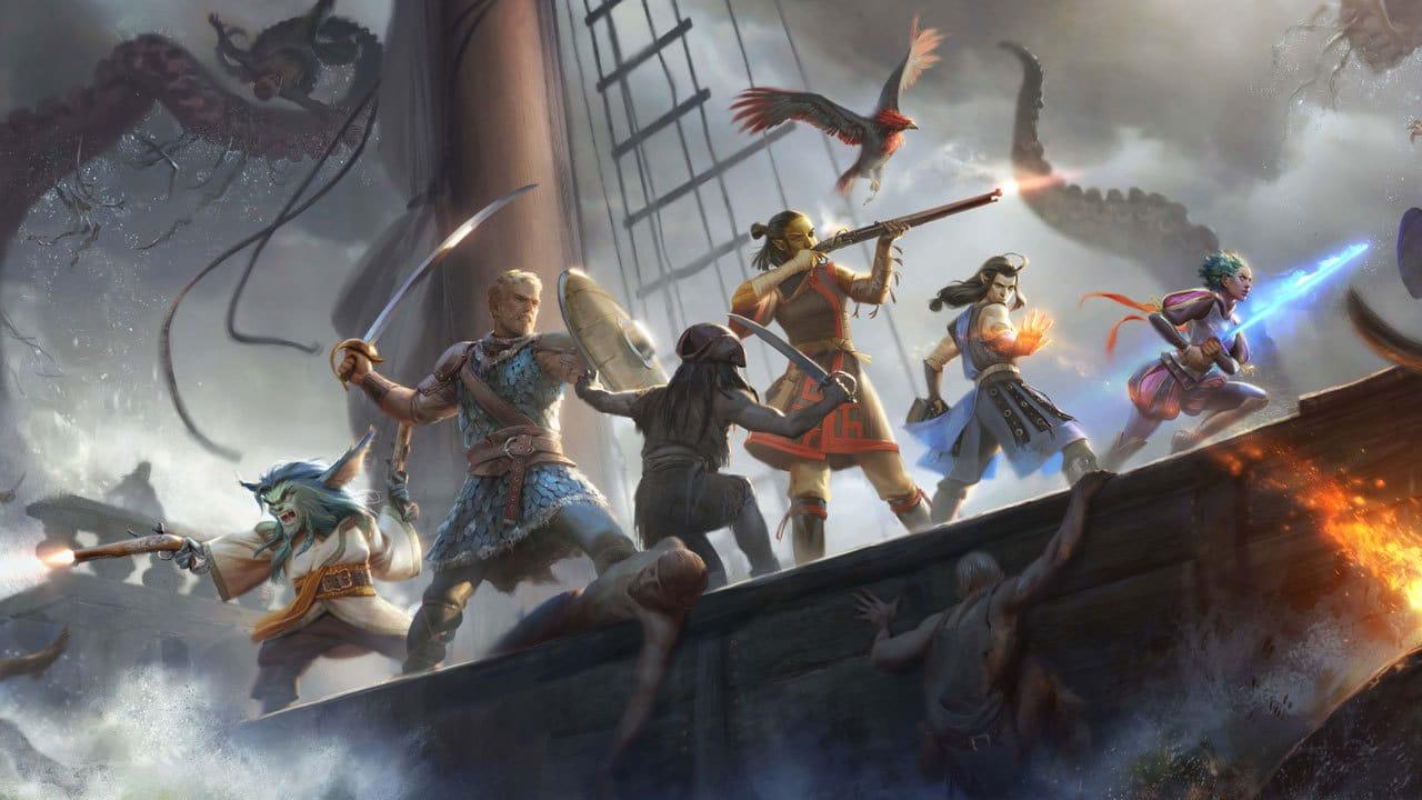 pillars of eternity 2 abordage bateau héros